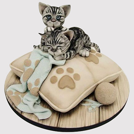 Adorable Cats Cake: Butterfly Cakes