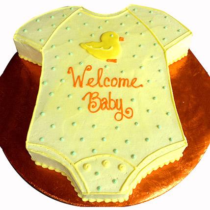 Baby Romber Shaped Cake:
