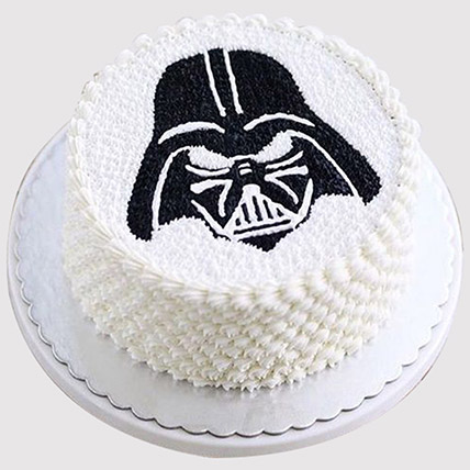 Darth Vader Delicious Cake: Star Wars Birthday Cakes