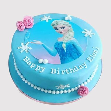 Fantastic Frozen Elsa Chocolate Cake In Uae Gift Frozen Elsa Chocolate Birthday Cards Printable Trancafe Filternl