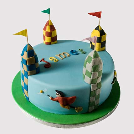 Harry Potter Quidditch Cake: Harry Potter Themed Cakes