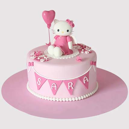 Hello Kitty Birthday Party Cake:
