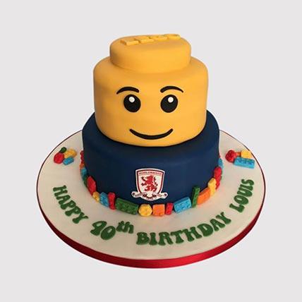 Lego Chelsea Cake: Lego Cake