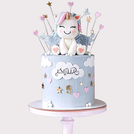 Pretty Unicorn Designer Cake: