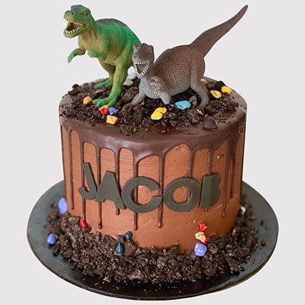 Roaring Dinosaurs Cake: Dinosaur Theme Cakes