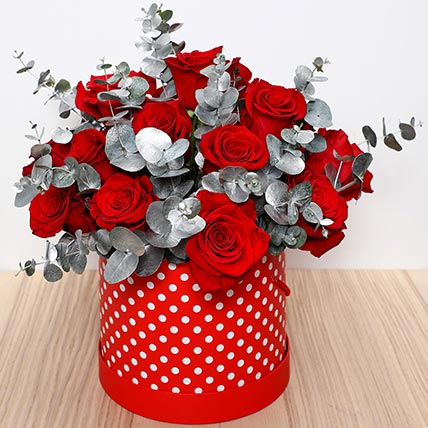 Beautiful Red Roses Box: Birthday Flowers
