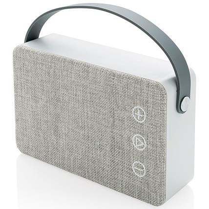Grey Bluetooth Speaker: Electronics Accessories