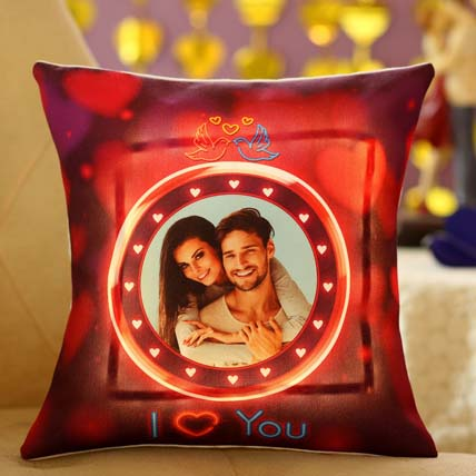 Lovey Dovey Personalised LED Cushion: Valentines Day Coffee Mugs