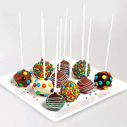 Belgian Chocolate Birthday Cake Pops: Chocolates in Sharjah