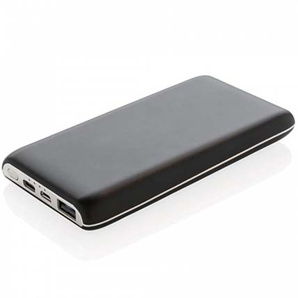 Black N Silver Powerbank: Electronics Accessories