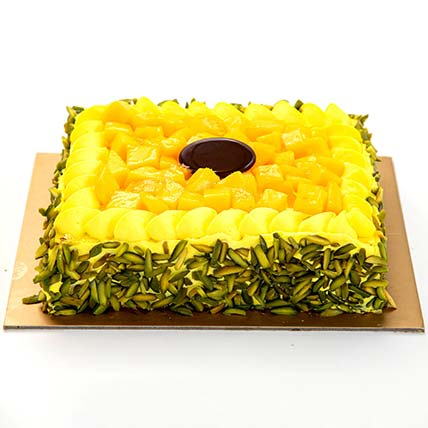 Mango Mousse Cake: Send  Birthday cake for Boyfriend