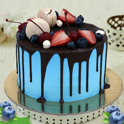 Chocolate Fruity Cake: Congratulations Cakes