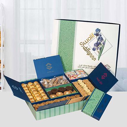 Premium Box Of Tasty Delicacies: Ramadan Mubarak Chocolates