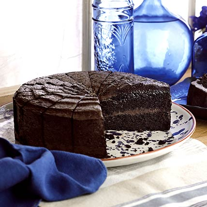 Frozen Belgian Choco Fudge Cake Vegan: