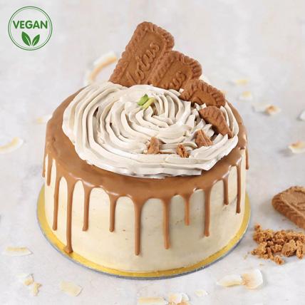 Vegan Lotus Biscoff Cake: Cake Delivery in Ajman
