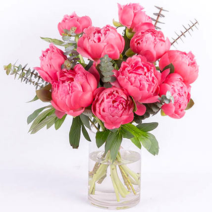 Perfect Pink Peonies: Peony Bouquet
