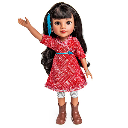 Mosi From Native American Doll: