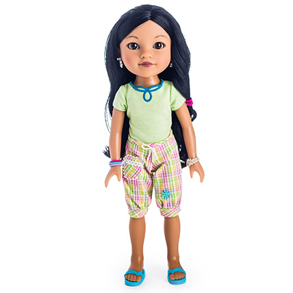 Tipi From Laos Doll: