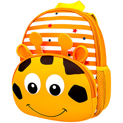 Adorable Animal Print Backpack: