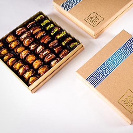Assorted Dates Eid Box 45 Pcs: Gift Hampers