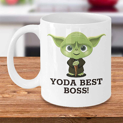 Yoda Best Boss Mug: Gift Ideas for Boss