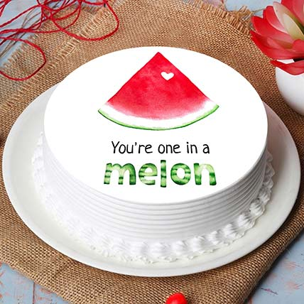 You Are One in Melon Cake: Rose Day Gifts