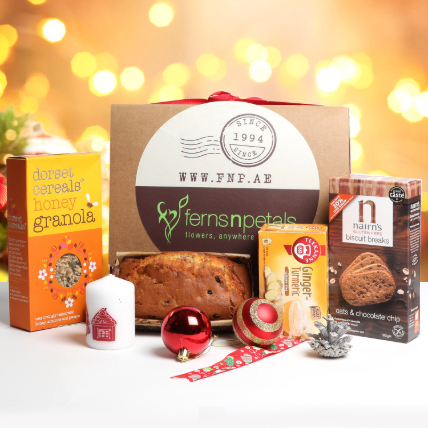 Healthy Food Delights Box: Xmas Hampers