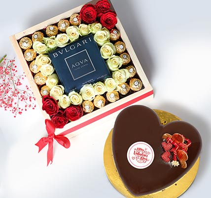 Because Your Love Makes Me Smile: Valentine Cake