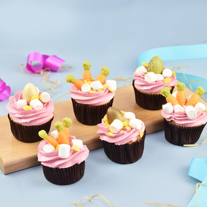 Easter Theme Special Vanilla Cup Cakes: Easter Gifts Dubai