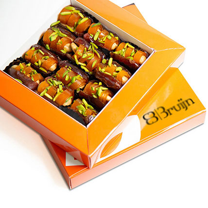 Dried Mango Peel Dates Box: Arabic Desserts