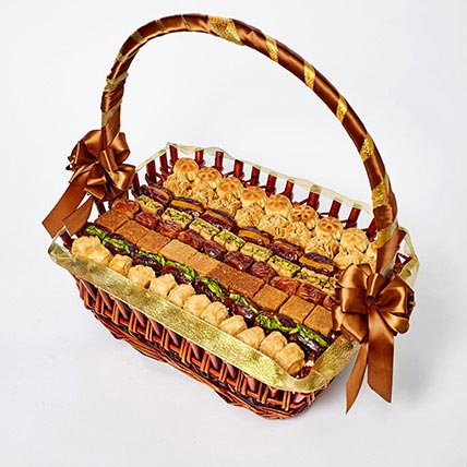 Stuffed Dates and Baklava Basket: Ramadan Gift Ideas