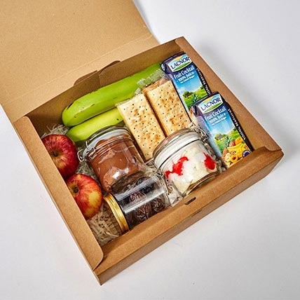Sweet and Savoury Meal Box: Iftar Gifts
