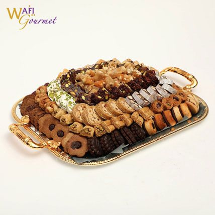 Box of Assorted Wafi Gourmet Sweets 2.72kg: Arabic Sweets