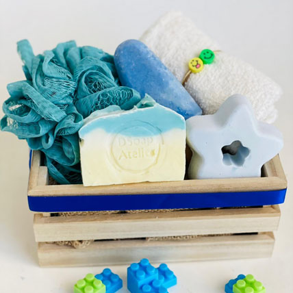 Baby Boy Soap hamper: Personal Care Products