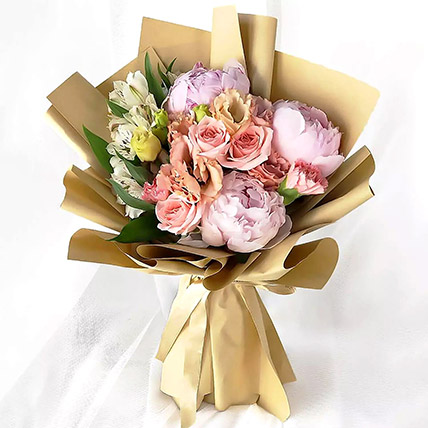 Pink Elegance Bouquet: Islamic New Year Gifts