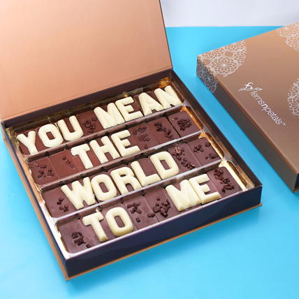 Mouth Watering Chocolates:  Personalised Chocolates