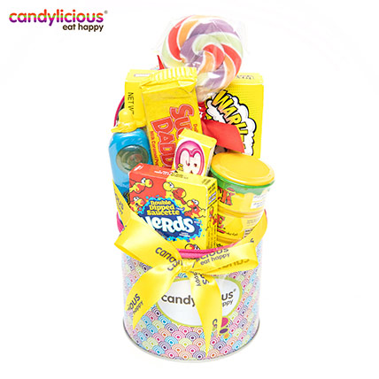 Candylicious Zipper Candy Print Lolly Gift Pack: Candylicious