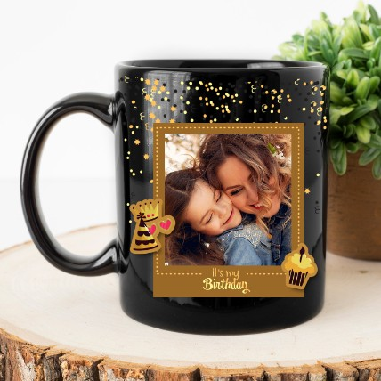 Its My Birthday Personalised Magic Mug: Personalized Gifts Same Day Delivery