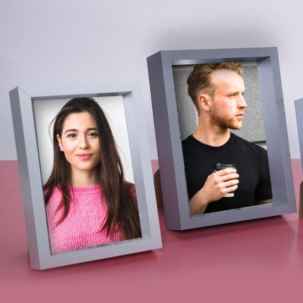 Personalised Photo Frame Set of 2: Personalised Photo Frames