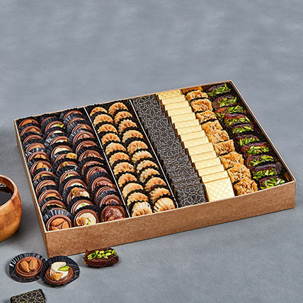 Assorted Tempting Delights Box: Eid Gifts