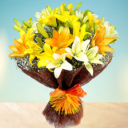 Sunny Asiatic Lilies PH: Send Flowers to Philippines