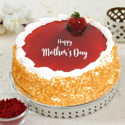 Strawberry Cake For Mothers Day: