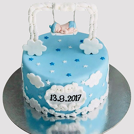 New Born Baby Designer Cake: