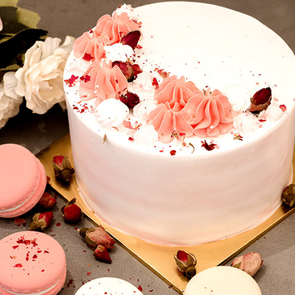 5in Round Red Forest Cake:  Cake Shop Singapore