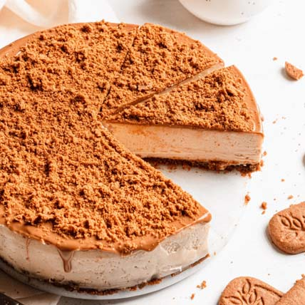 Crunchy Speculoos Cheesecake:  Cake Shop Singapore
