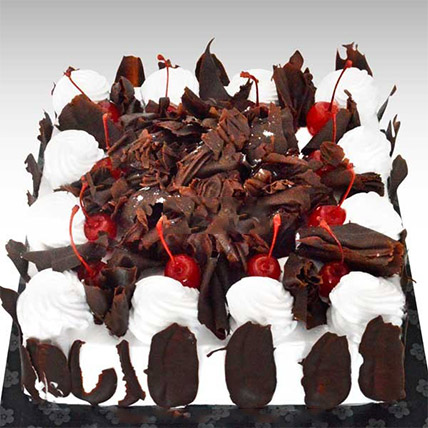 Delectable Black Forest Cake:  Gift Delivery In Sri Lanka