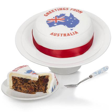 Greetings From Australia Fruit Cake:  Gifts UK