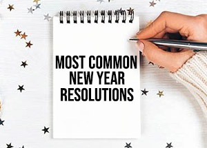 Most Common New Year Resolutions