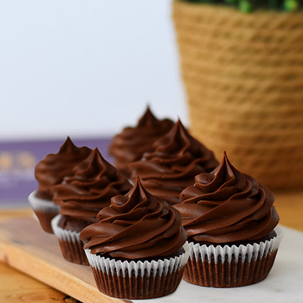 Delectable Red Velvet Cupcakes 12 Pcs