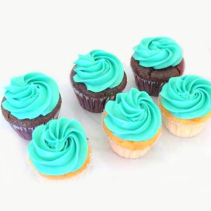 Divine Chocolate Cupcakes 12 Pcs